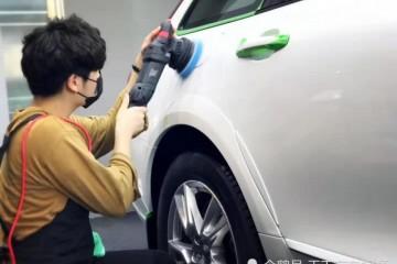 车子开到烂才知学会用这招车漆不必打蜡也能亮光不粘灰